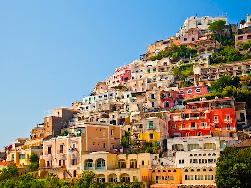 Gli stranieri preferiscono positano per la seconda casa in for Seconda casa