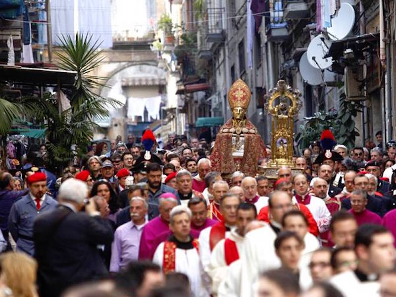 """San Gennaro and the """"Miracle of May"""": on Saturday 4 the function live on Canale 21"""