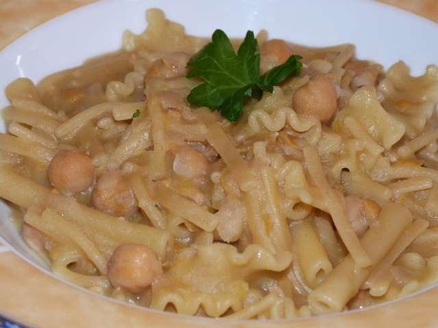 Ricetta pasta ai legumi