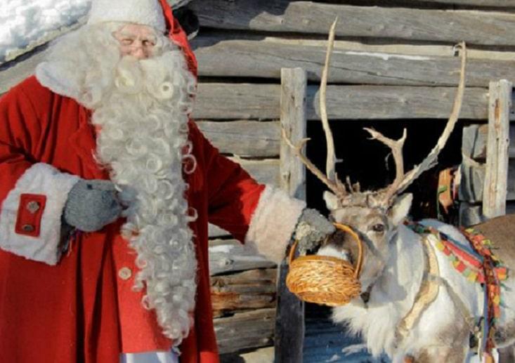 Posizione Babbo Natale.Leggende Natalizie I Nomi Delle Renne Di Babbo Natale
