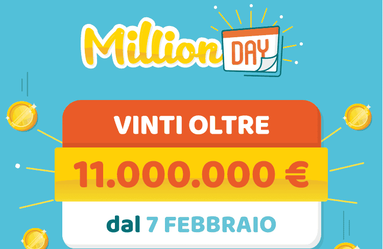 Million day estrazione di oggi 12 marzo for Million day estrazione di oggi