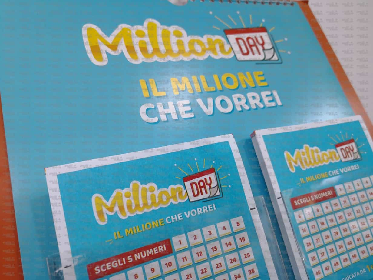 Million day estrazione di oggi 25 marzo for Million day estrazione di oggi