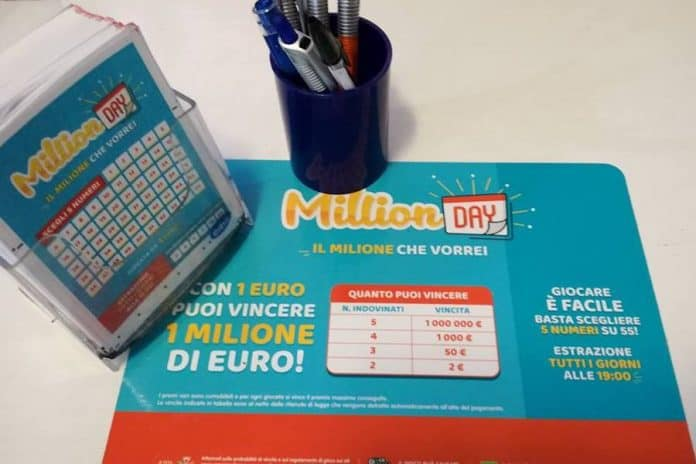 Million day estrazione di oggi 18 marzo for Million day estrazione di oggi