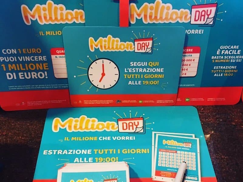 Million day estrazione di oggi 19 marzo for Million day estrazione di oggi
